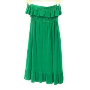Old Navy Strapless Dress Swim Cover Up, XS